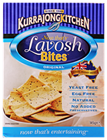 Picture of KURRAJONG KITCHEN LAVOSH BITES 145g
